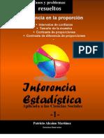 INFERENCIA EN LA PROPORCIÓN-CASOS Y PROBLEMAS RESUELTOS