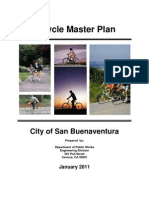 2011 Bike Master Plan - City of Ventura