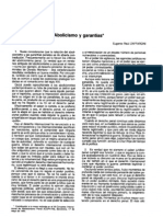 zaffaroni - 1994 - abolicionismo y garantías