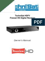 Technisat HDFV Manual