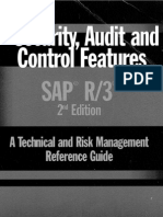 Security Audit and Control Features SAP R3
