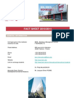 ESC_MScM Fact Sheet 2010-2011