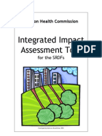Integrated Impact Assessment Model and Tool for SRDFs in London