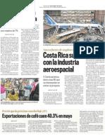 CostaRica sueña con la Industria Aeroespacial