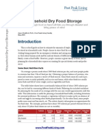 Household Dry Food Storage