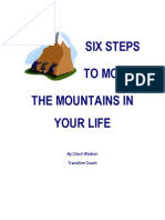 6 Steps to Moving Your Mountains