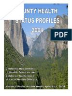 California County Health Status Profiles 2004