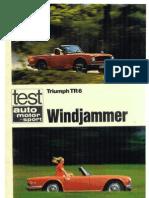 TR6 ams 1969