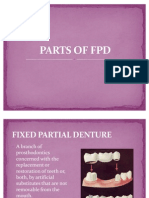 Parts of FPD
