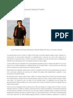Leonor Massanet en Libia
