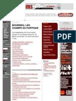 BOURDIEU, Pierre • Pierre Bourdieu. Dossier Libération (février 2002)