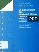 La Expansion Del Derecho Penal