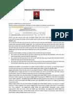 Menerjemahkan Pernyataan Ke Fungsi Excel