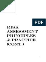 Unit 5 a Risk Assessemsnt 5 Steps Cont