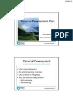Personal Development Plan(AK)