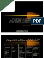 Protocolo de Dor Pre Cordial Sugestiva de Dac.