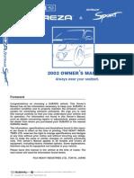 Subaru 2002 Owner's Manual