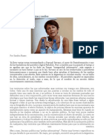 Sandra Russo Mentiras y Medios