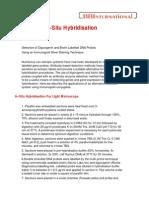 In-Situ Hybridisation