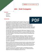 Streptavidin - Gold Conjugates for LM & EM