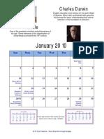 Deist Calendar 2010 With Holidays