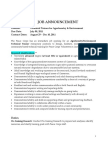 Technical Trainer for Agroforestry & Environment