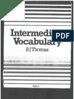 IntermediateVocabBJThomas