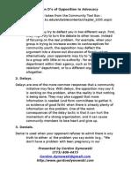 Argument Clinic - Ten D Handout