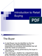 Introduction to Retail Buying