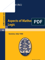 Aspects of Mathematical Logic