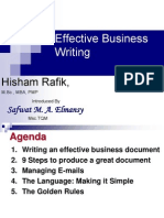 Business Writing(Materials for Distribution)