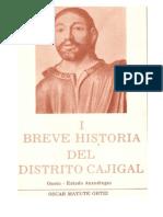 Breve Historia Del Municipio Cajical Del Estado Anzoategui