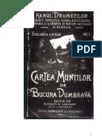 Bucura Dumbrava - Cartea Muntilor