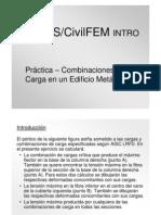Practica 09- Combinaciones de Carga en un Edificio Metálico