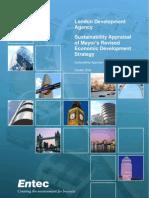 London Economic Development Sustainability Appraisal