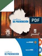 Cuaderno de prevención ante incendios Ayuntamiento de Madrid