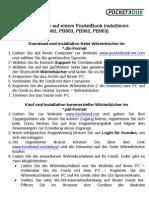 Dictionary Installation Guide De