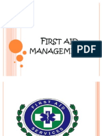 First Aid Managements