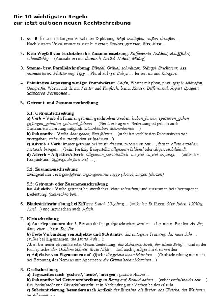 Die 10 Wichtigsten Regeln Adjective Adverb