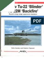 AeroFax - Tupolev Tu-22 Blinder & Tu-22M Backfire