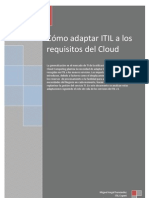 Cómo adaptar ITIL a los requisitos del Cloud