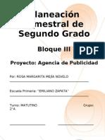2do Grado - Bloque III - Proyecto 3
