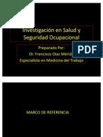 Investigación en Salud y Seguridad ocupacional