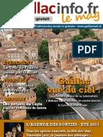 Gaillacinfo Le Mag n°3 - juillet-août 2011