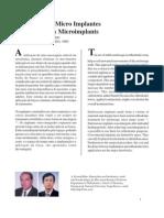 Soluções Com Micro Implantes