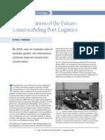 Transportation of the Future Understanding Port Logistics