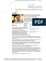 Meet the Credit-Card King With $300,000 in Credit