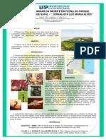 """Relação preliminar da fauna e da flora do Parque Estadual Dunas de Natal - """" JORNALISTA LUIZ MARIA ALVES"""""""