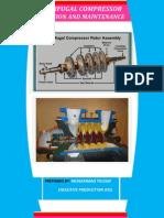 Report on Centrifugal Compressor
