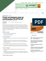 Como se preparar para as certificações SCJP_OCJP – iMasters